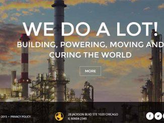 ธีม Wordpress (Theme) design การออกแบบ เว็บ สำหรับ โรงงานอุตสาหกรรม