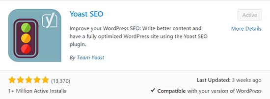 YOAST WordPress plugin seo tool