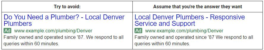 ตัวอย่าง โฆษณา Text Ad