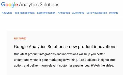 Google analytics solution blog